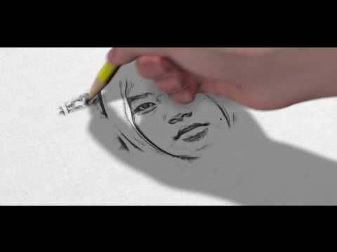 Pencil sketch art after effect template free youtube