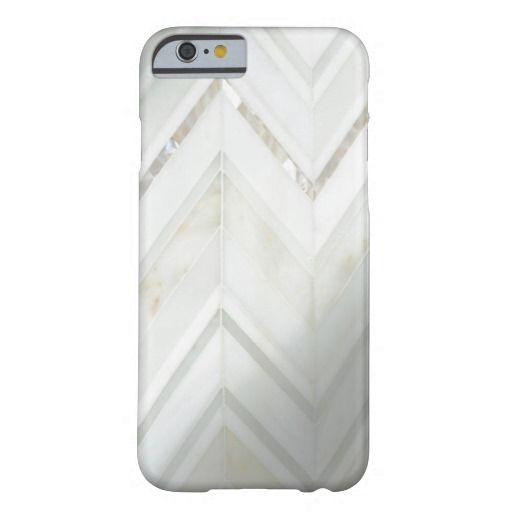 Cool white zig zag mother of pearl nacre oysters barely there iPhone 6 case