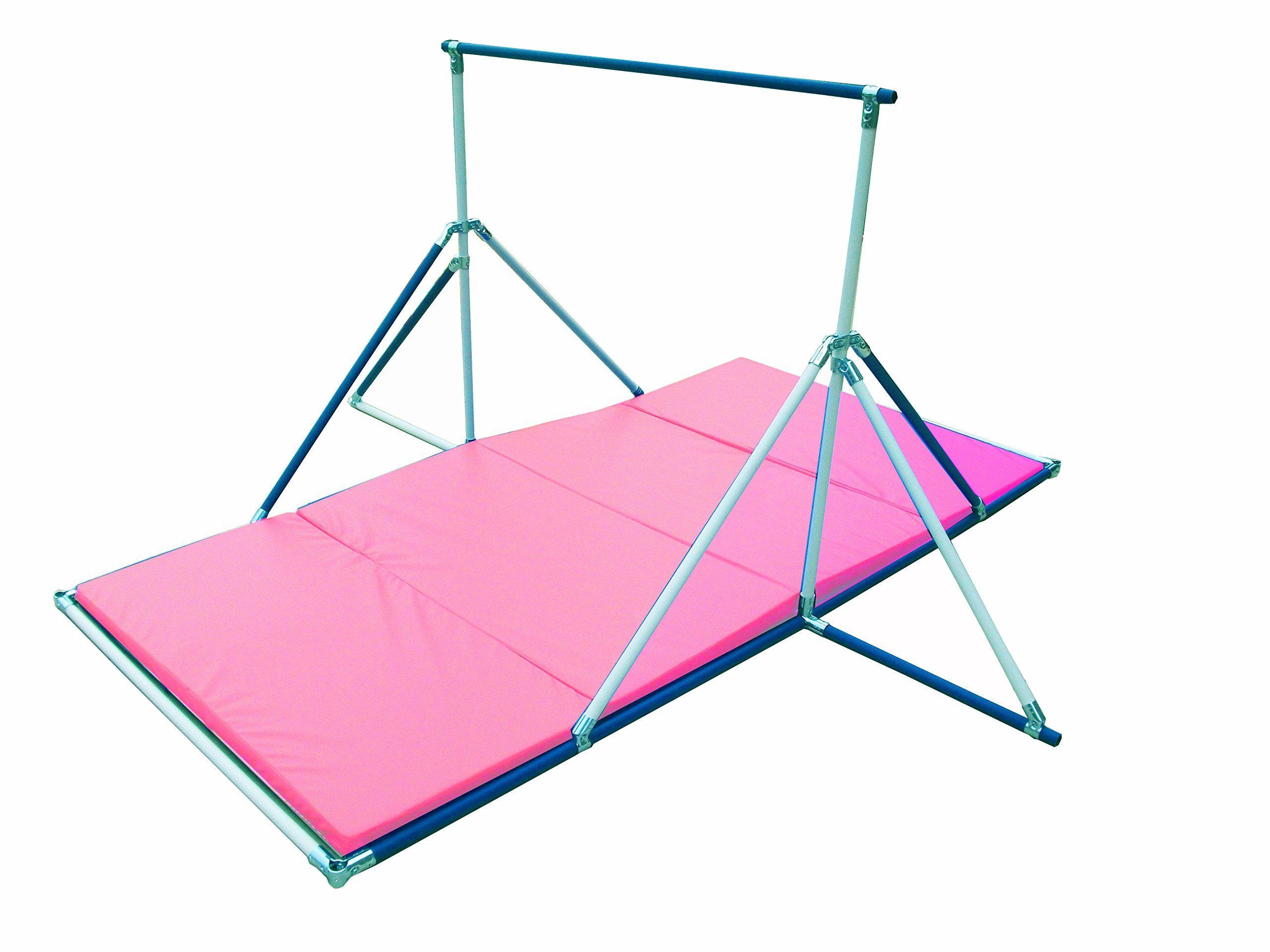 Horizontal Bar Gymnastics Mat Combo Pink