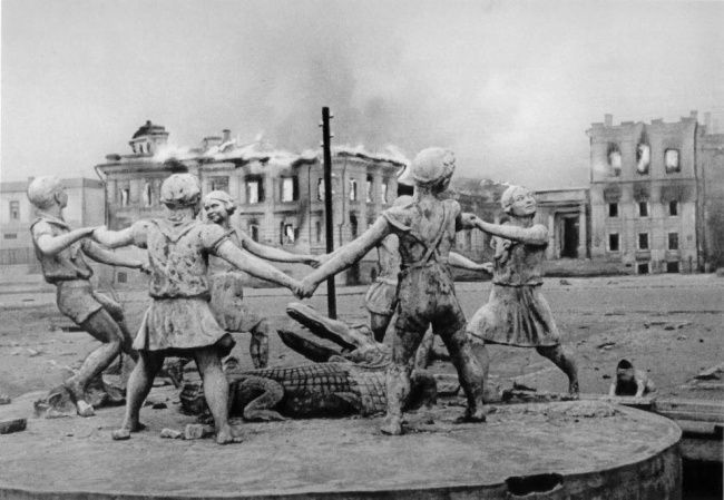 Volgograd former Stalingrad after World War II