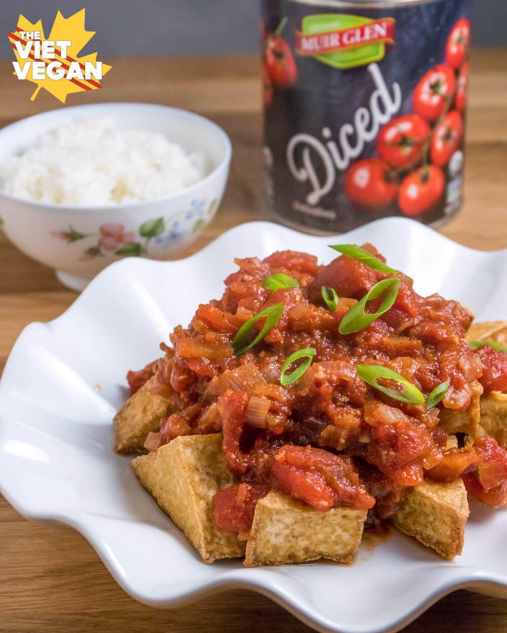 Vietnamese Fried Tofu With Tomatoes U H St Cà