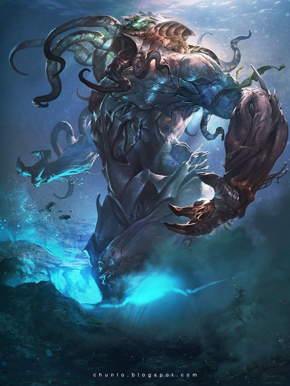 Coolvibe Digital Art Wallpapers Inspirationcoolvibe Digital Art Digital Art Gallery Featured Art Monster Concept Art Fantasy Creatures Fantasy Monster