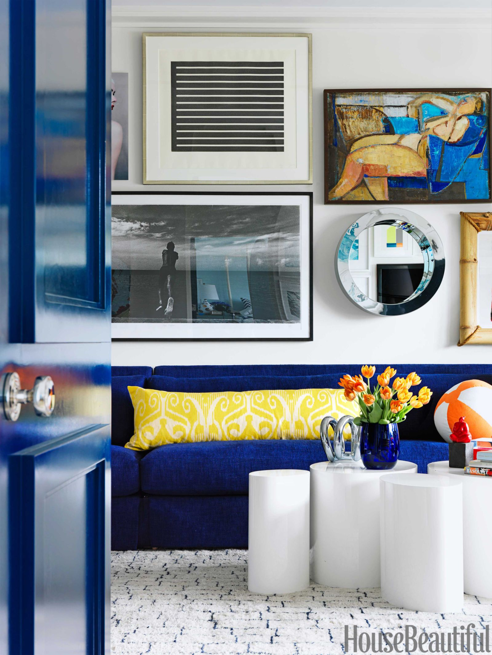 A Colorful and Modern Miami Apartment