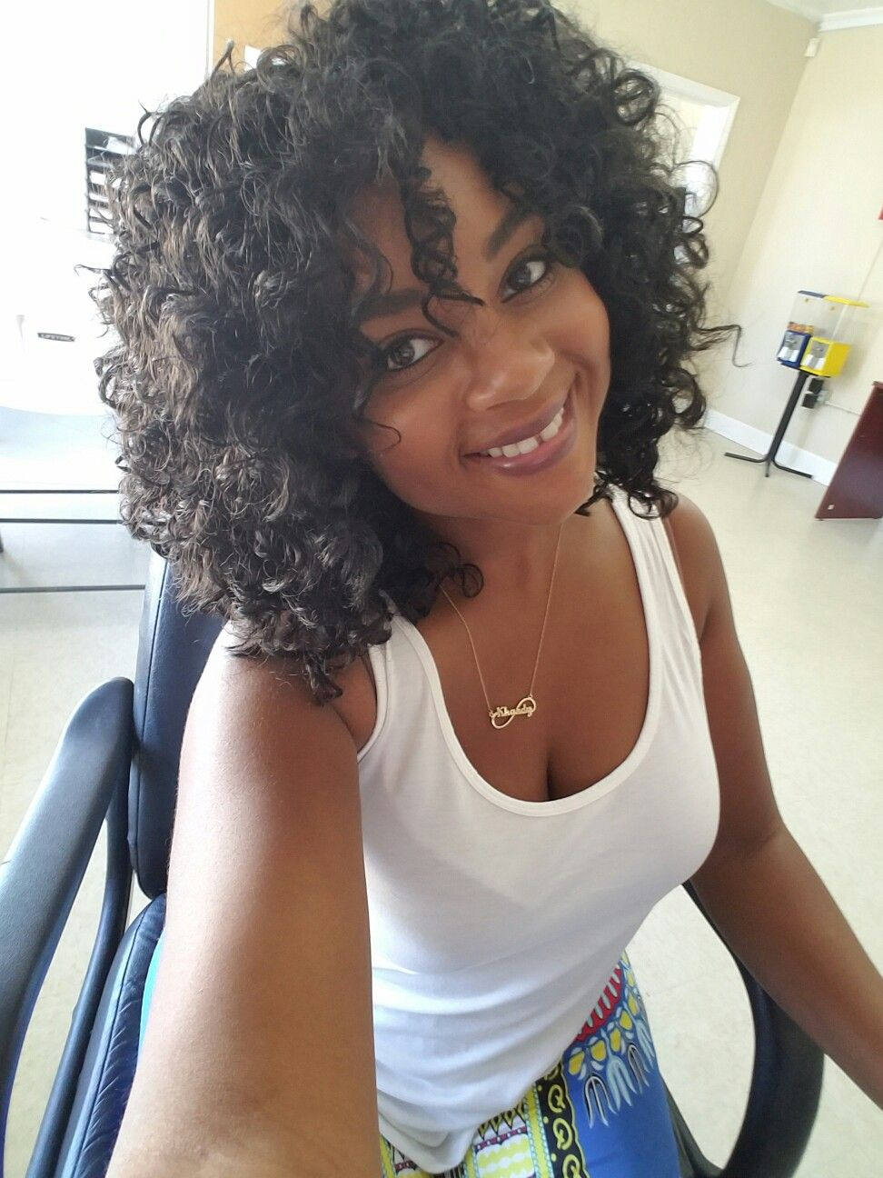 Crochet Braids With Freetress Gogo Curls Tree Braids Hairstyles Curly Hair Beauty Crochet Hair Styles