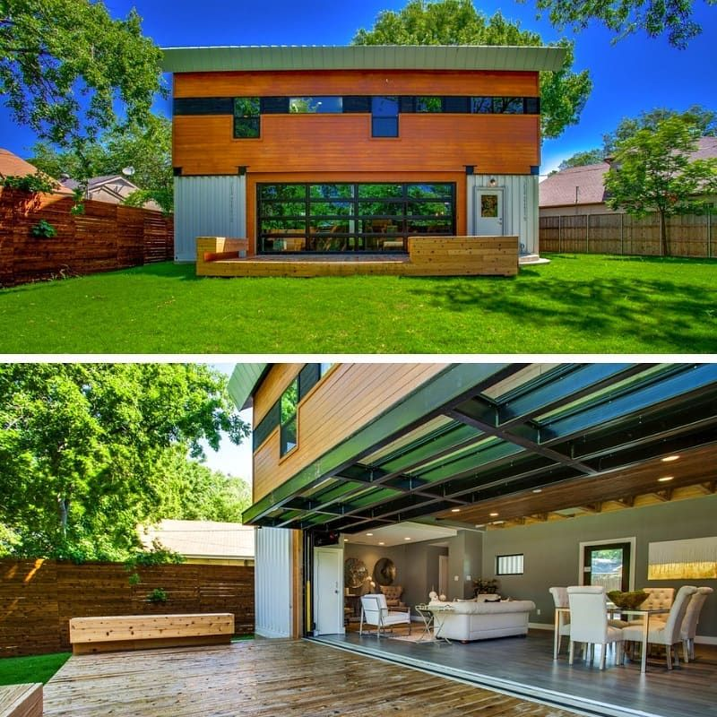 """The Casa Club on Instagram """"Rochelle Dr Container House"""