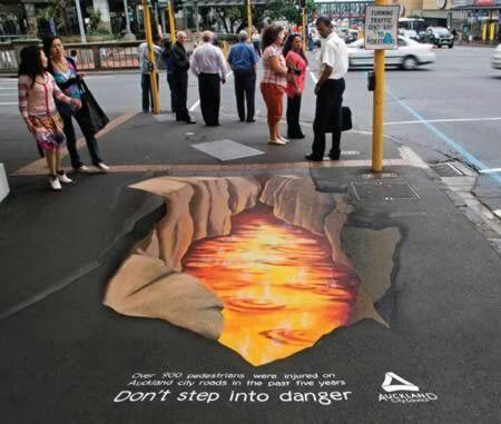 Pin By Nija Ambush On Art 3d Street Art Amazing Street Art Sidewalk Art