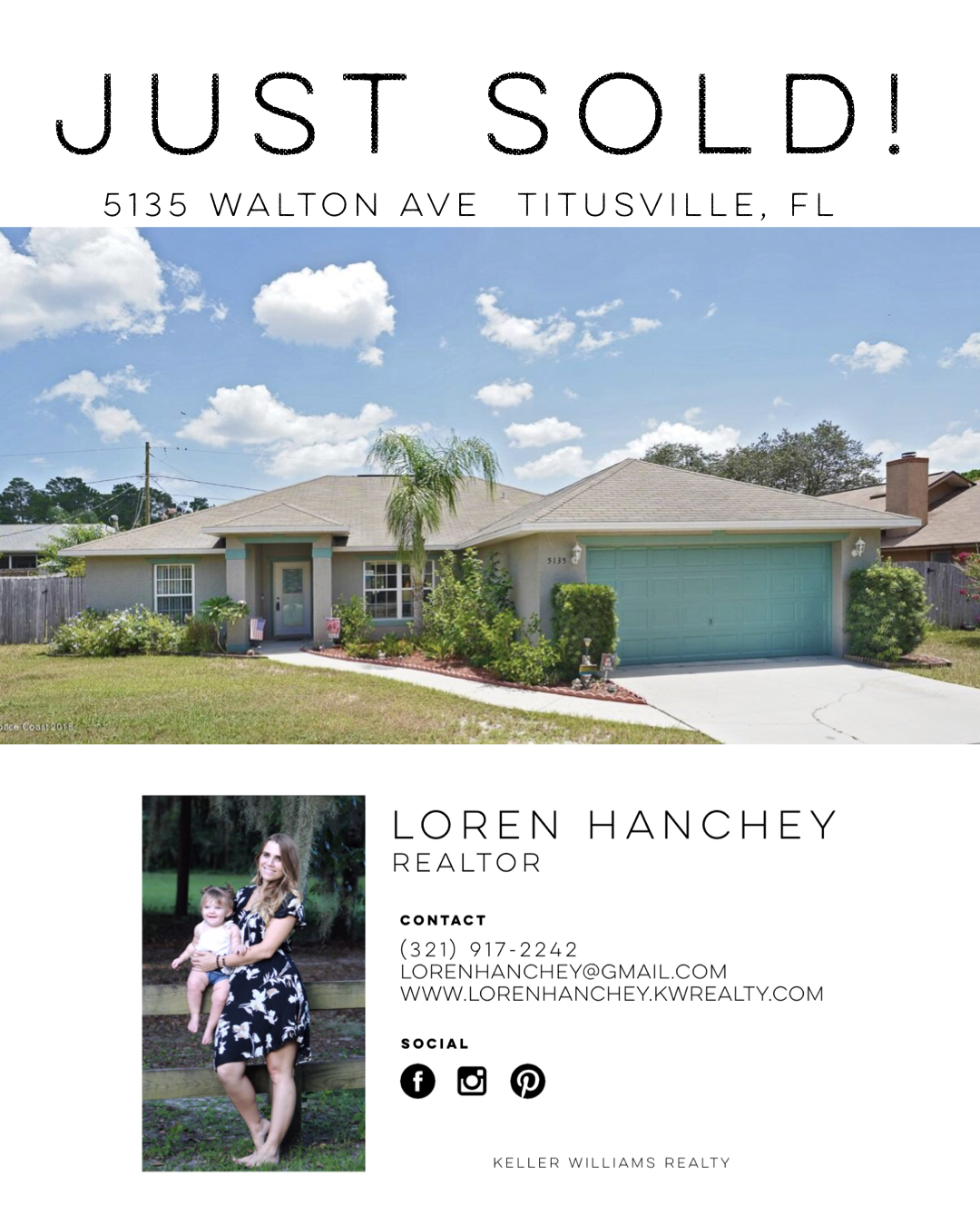 Just Sold Real Estate Marketing Real Estate Realty