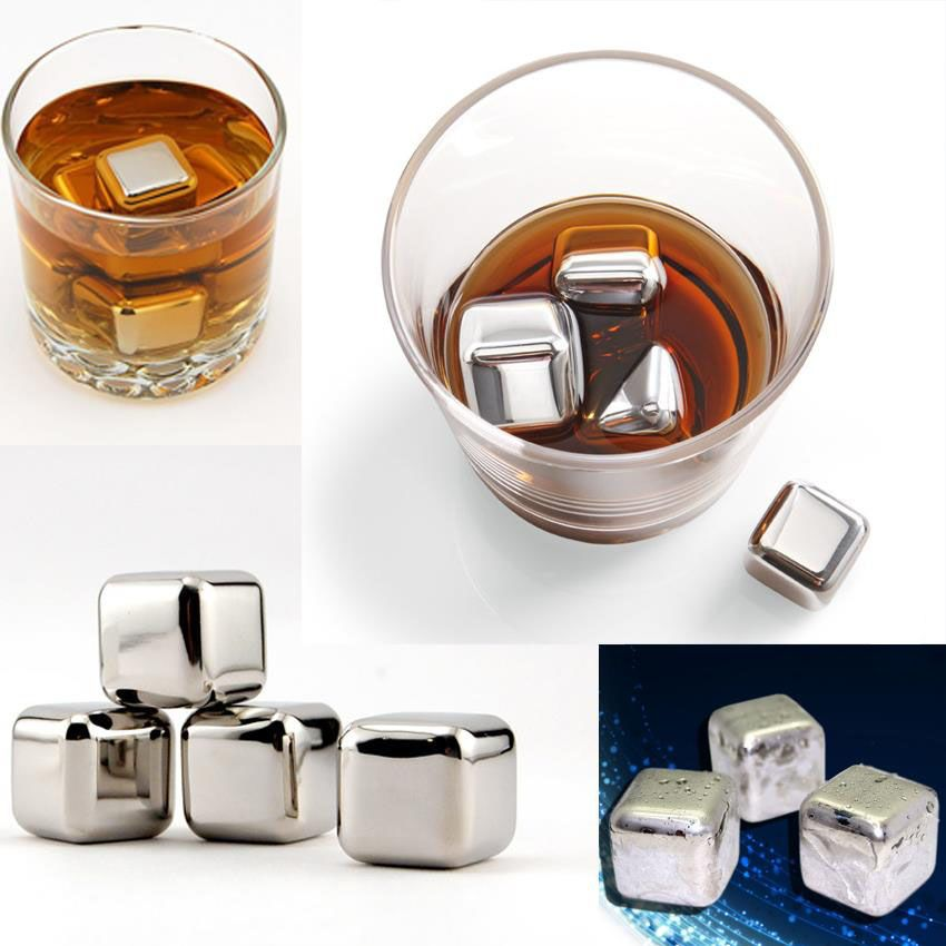 Stainless Steel Ice Cubes [Onyx]