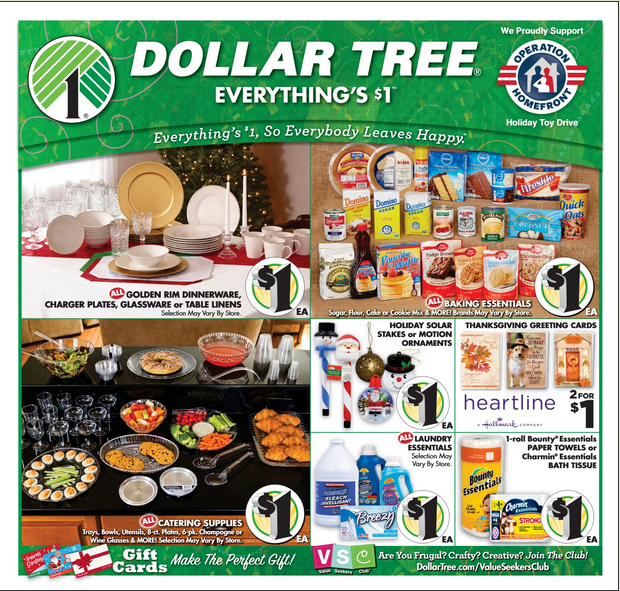Dollar Tree Ads Catalogs January 6 - 26, 2019 | Weekly Ad Circulars