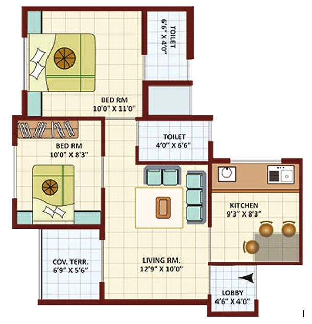 Outstanding residential properties 700 sq ft house plans - 2 bedroom apartments in las vegas under 700 ...
