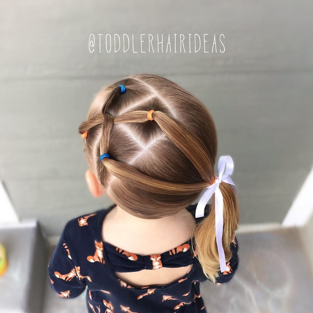 Idée Coiffure Facile Petite Fille Pin By Toddler Hair Ideas On Toddler Hair Ideas