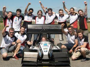 Estudiantes suizos destrozan el récord Guiness de aceleración