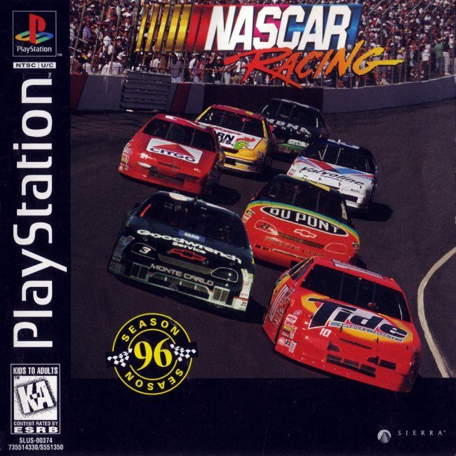 Comprar Jogos Ps 2 Xbox 360 Dvd Xbox360 Playstation 2 Ps2: Jogo Nascar Racing Season 96 Para PlayStation PSX PS1