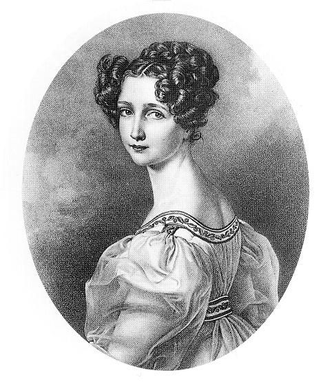 Sophie Friederike Dorothea Wilhelmine of Bavaria (1805-1872), daughter of Maximilian I Joseph of Bavaria and his wife Karoline of Baden. She was married to Franz of Austria and they had 5 children.