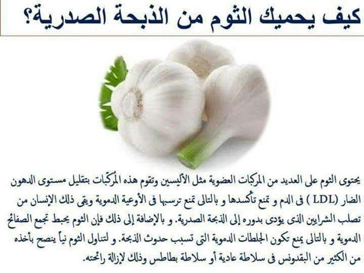 Pin By Pipou Poup On وصفات من الطبيعة Food Health Garlic