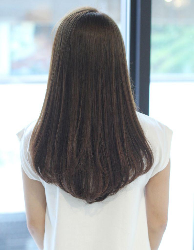 つやさらナチュラルストレート縮毛矯正 So 202 ヘアカタログ 髪型