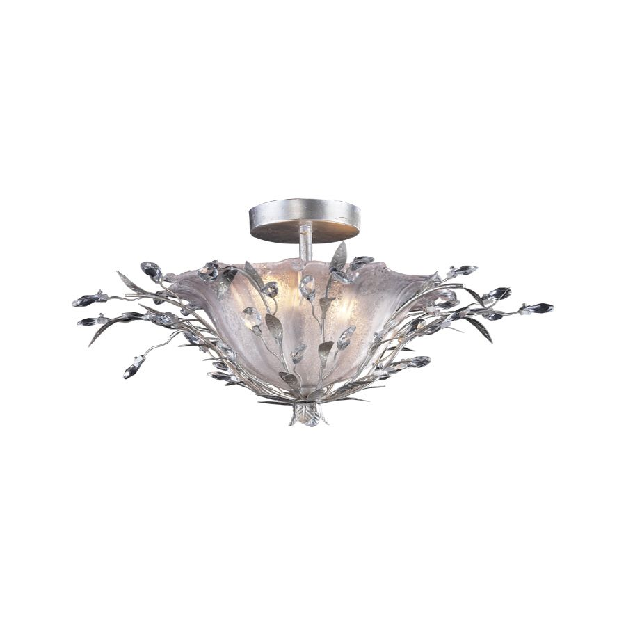 Shop Portfolio 16 In W Semi Flush Mount Ceiling Light At Lowes Com
