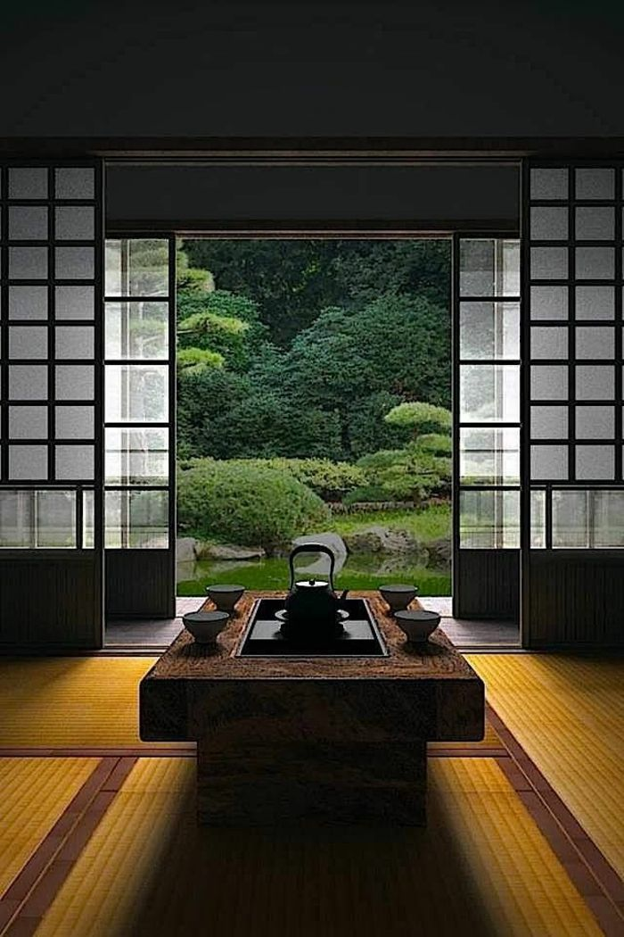 Japanese Interior Japanese Furniture Japanese Style Sliding Door Decoration Japonaise Interieur Japonais Et Meubles Japonais