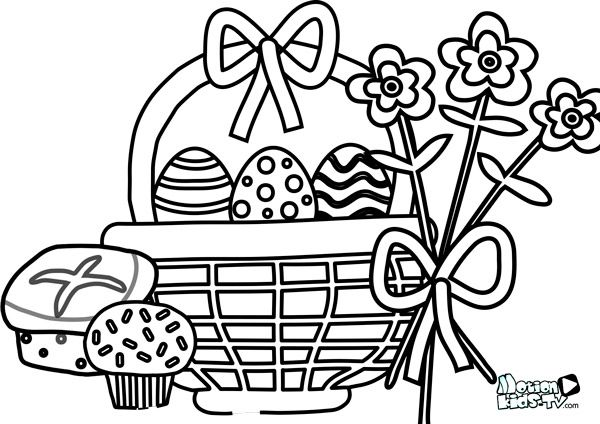 Dibujos para pintar huevos de pascua, conejos, y otros símbolos ...