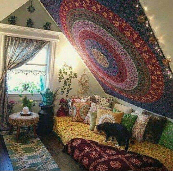 Yoga zimmer zuhause einrichten wohn design - Chill zimmer einrichten ...