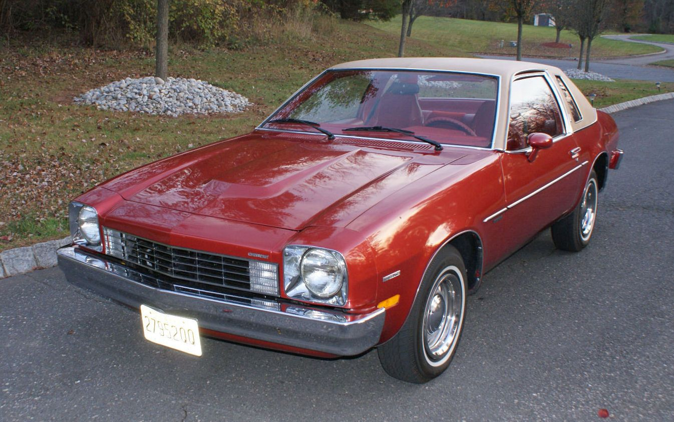 Almost New 1975 Chevrolet Monza Town Coupe Chevrolet Monza
