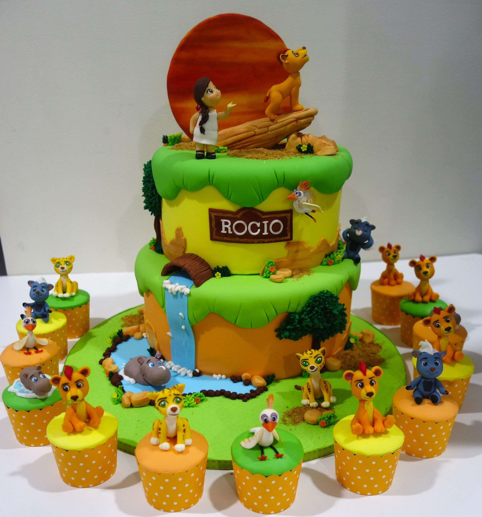 Https Flic Kr P Upqppr Lion Guard Cake And Cupcakes Lion