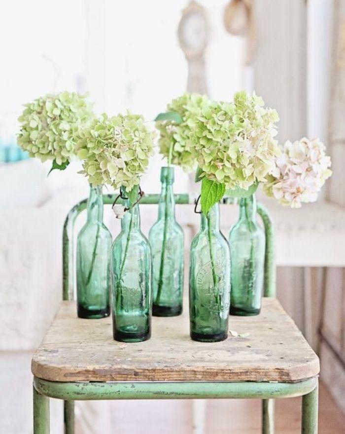 1001 tutos et id es faciles de d co avec de la r cup chaise vintage bouteille verre et deco - Bouteille en verre vide ikea ...