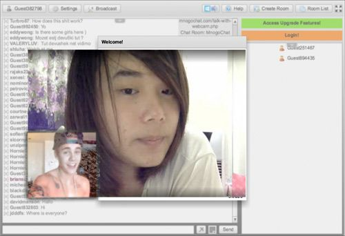 Web cam paypal