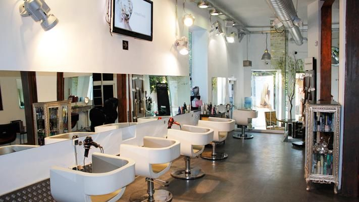 Peluquerias de dise o buscar con google peluqueria for Iluminacion para peluquerias