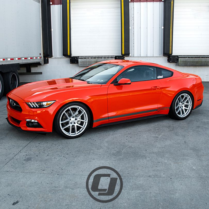 Cj S 2015 Mustang Ecoboost On Velgen Vmb5 Wheels Mustang