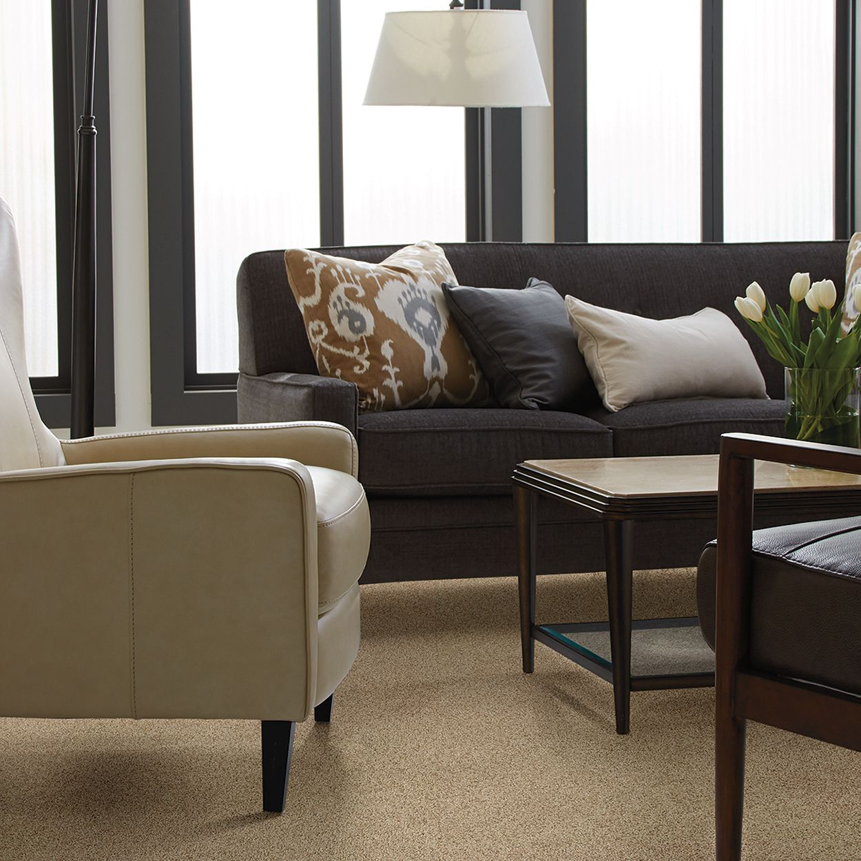 Tigressa Carpet in the style Coral Reef Accents Textured