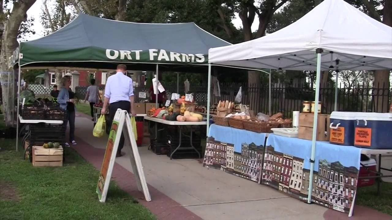 Farmers Market Doric Apartments Union City