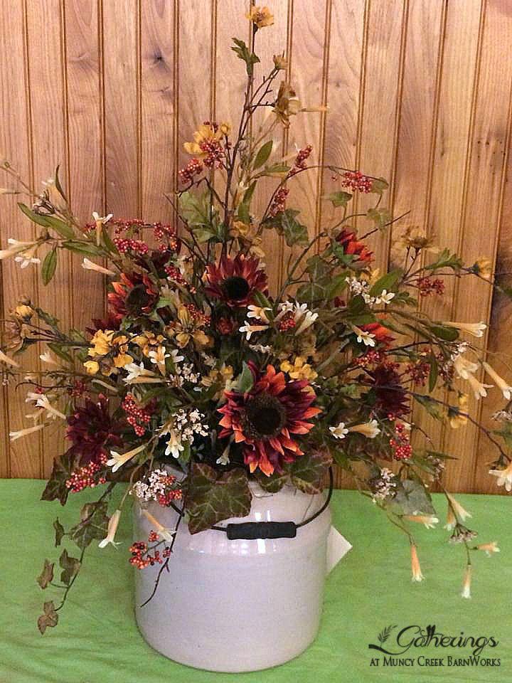 Fall Crock Pot From Gatherings At Muncy Creek Barnworks