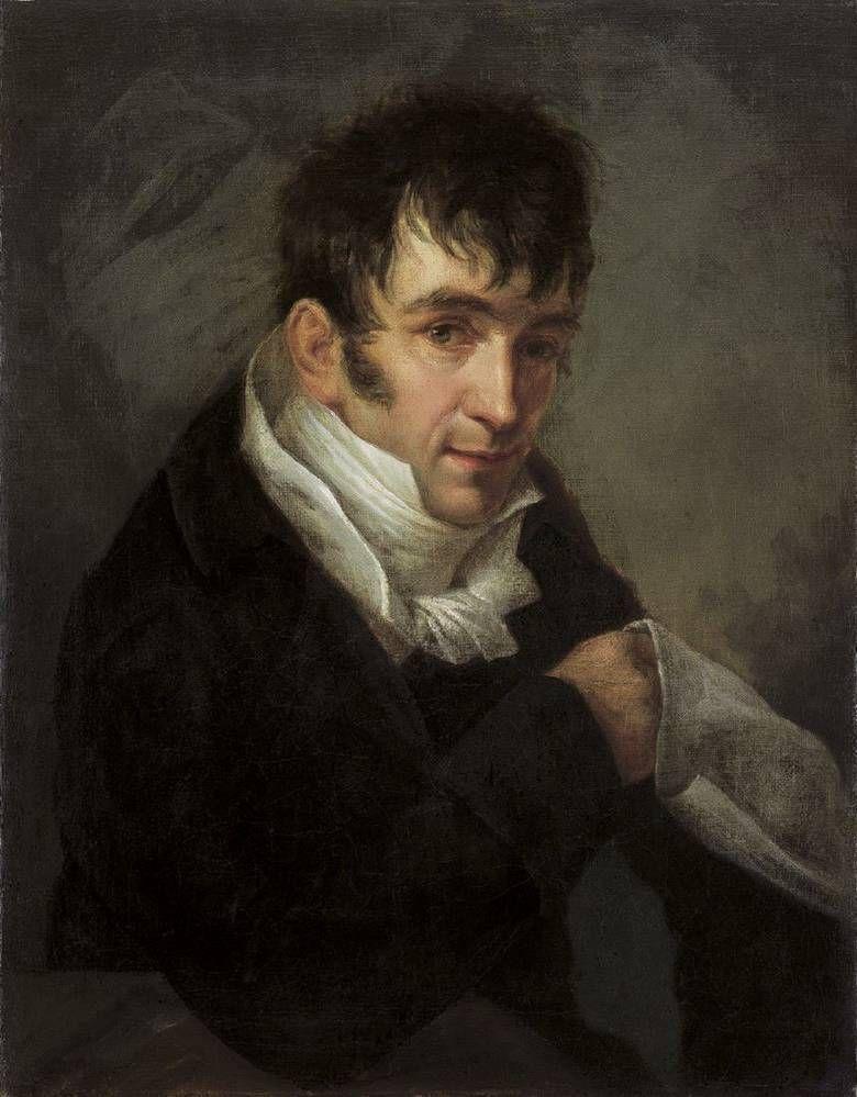 Anton Graff - Portrait of a Man, 1810