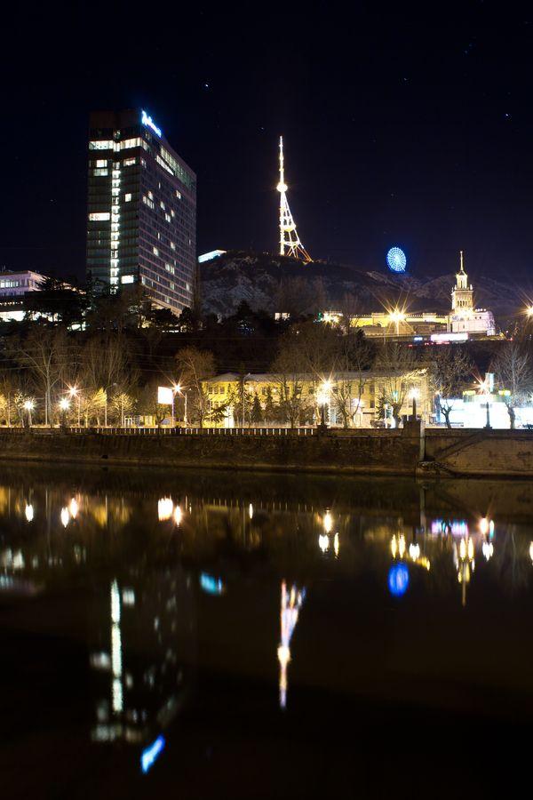 Night in Tbilisi, Georgia