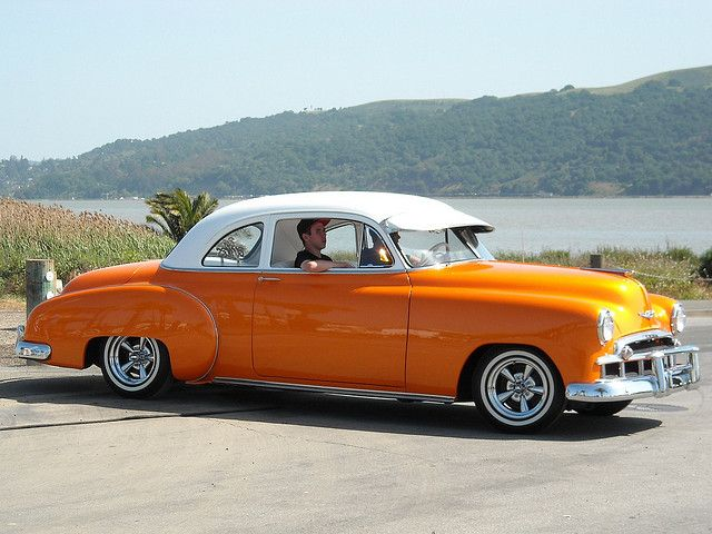 1949 Chevrolet Business Coupe Custom 3jem839 2 Old American