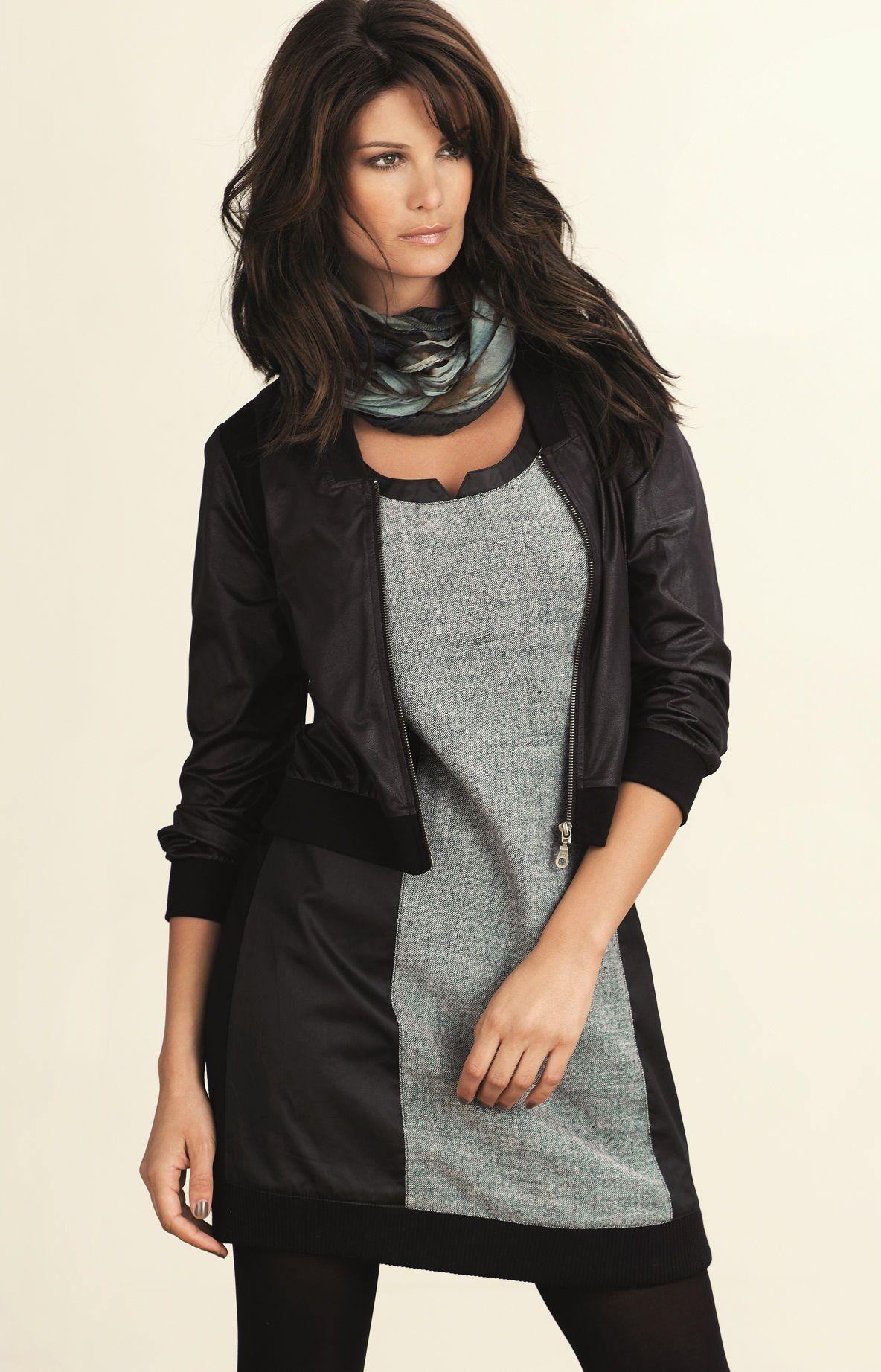 Kjole warmtrend   Trendy & pen komfortabel kjole med ull & god passform. Kjolen er av mykt materiale med ull