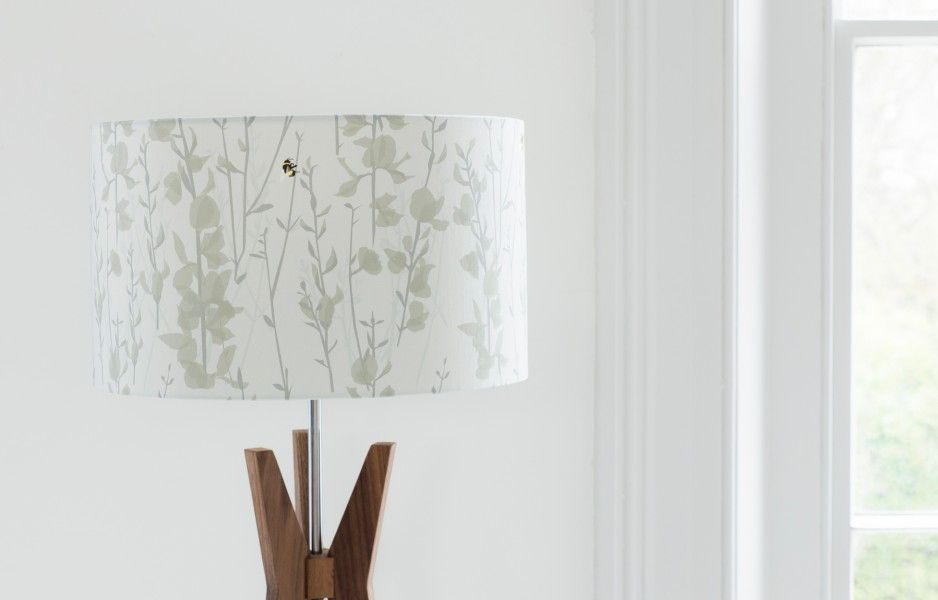 Broom U0026 Bee Dusk Lampshade | Lorna Syson Nice Design