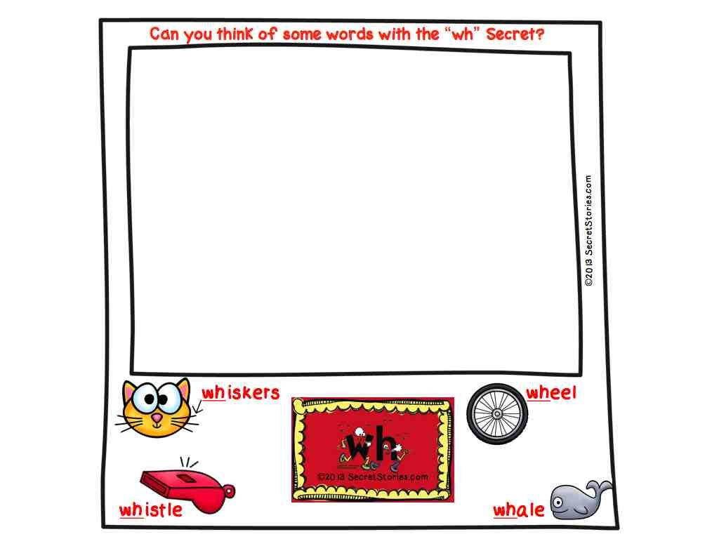Spotting Phonics Secrets Secret Stories Digraphs Th