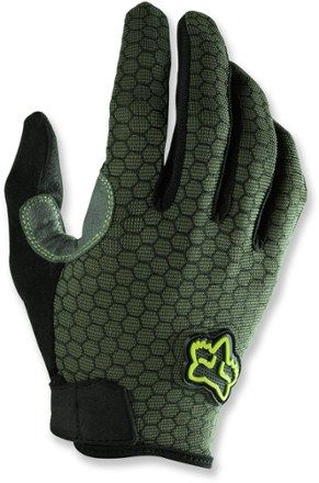f6d8d11f9 FATIGUE GREEN Mountain Bike Gloves