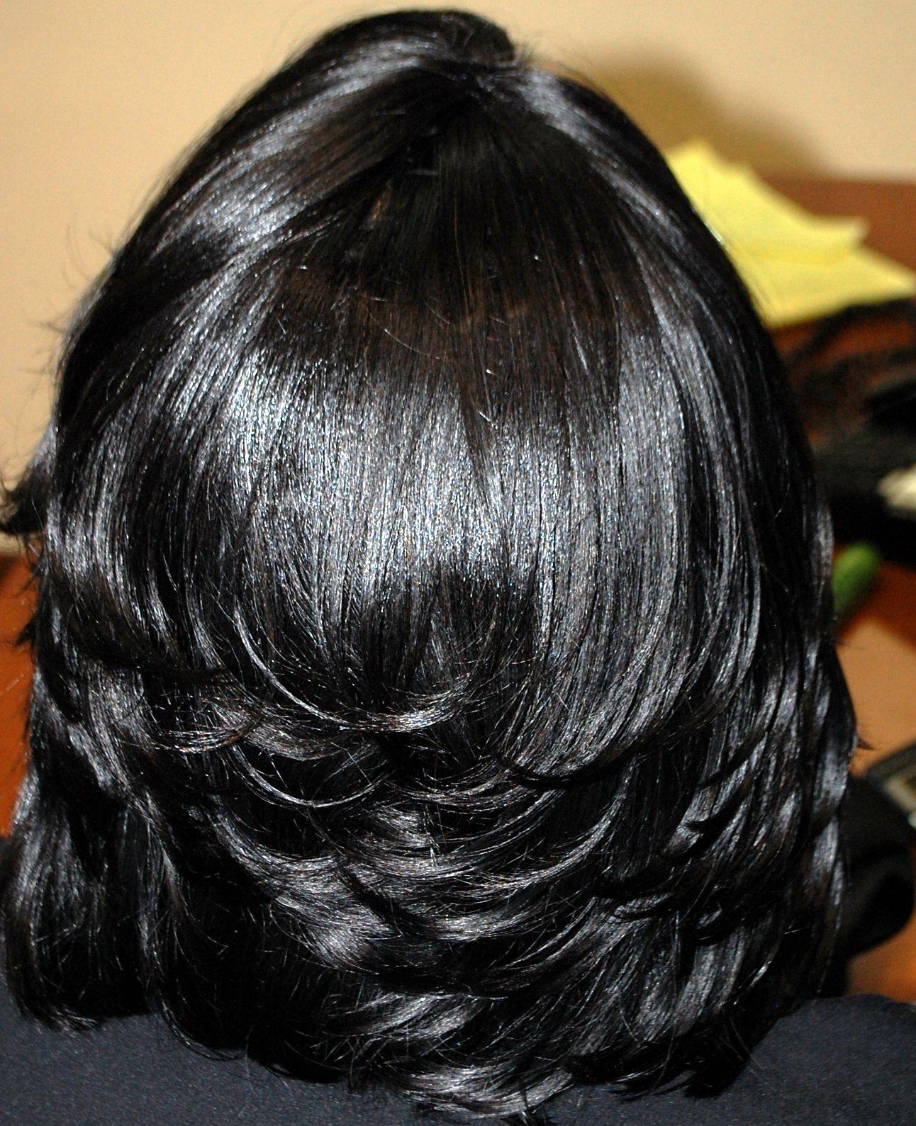 Styling With Flat Iron Hair Salon Woodbridge Va Hair On Point