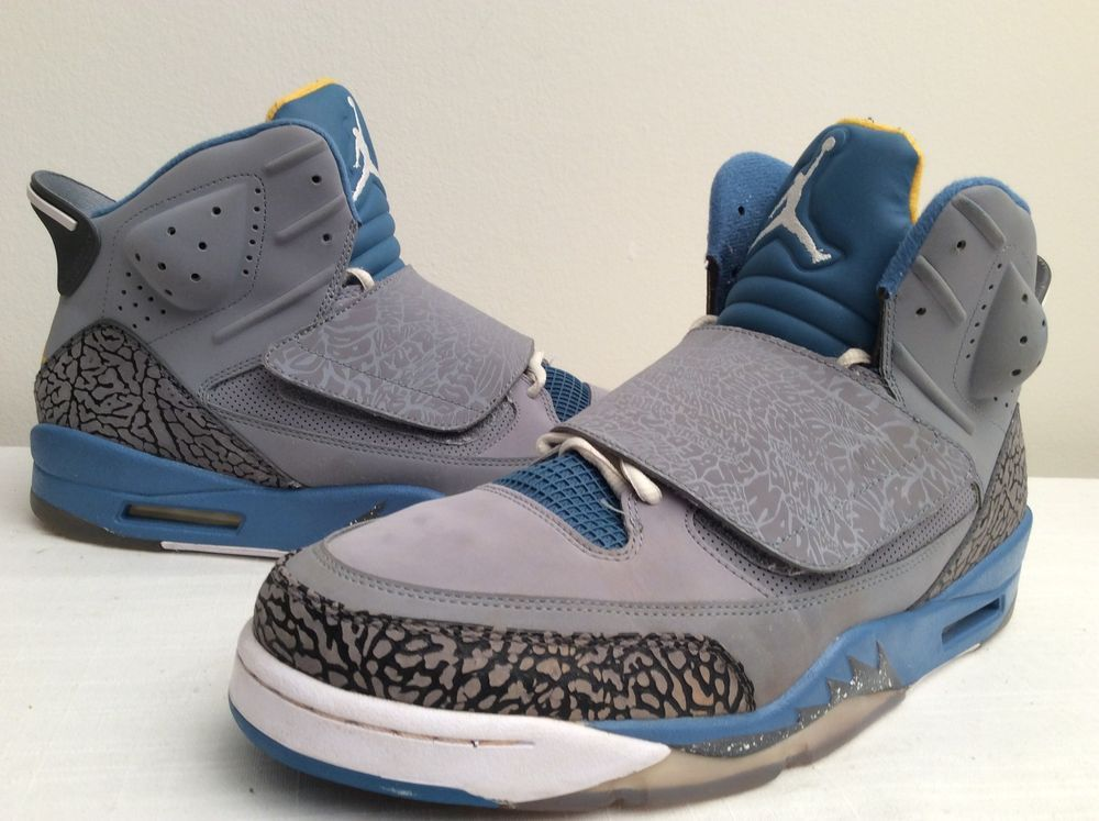 the latest 62793 88a45 ... promo code for air jordan son of mars 512245 037 size 13 stealth shaded  blue gold