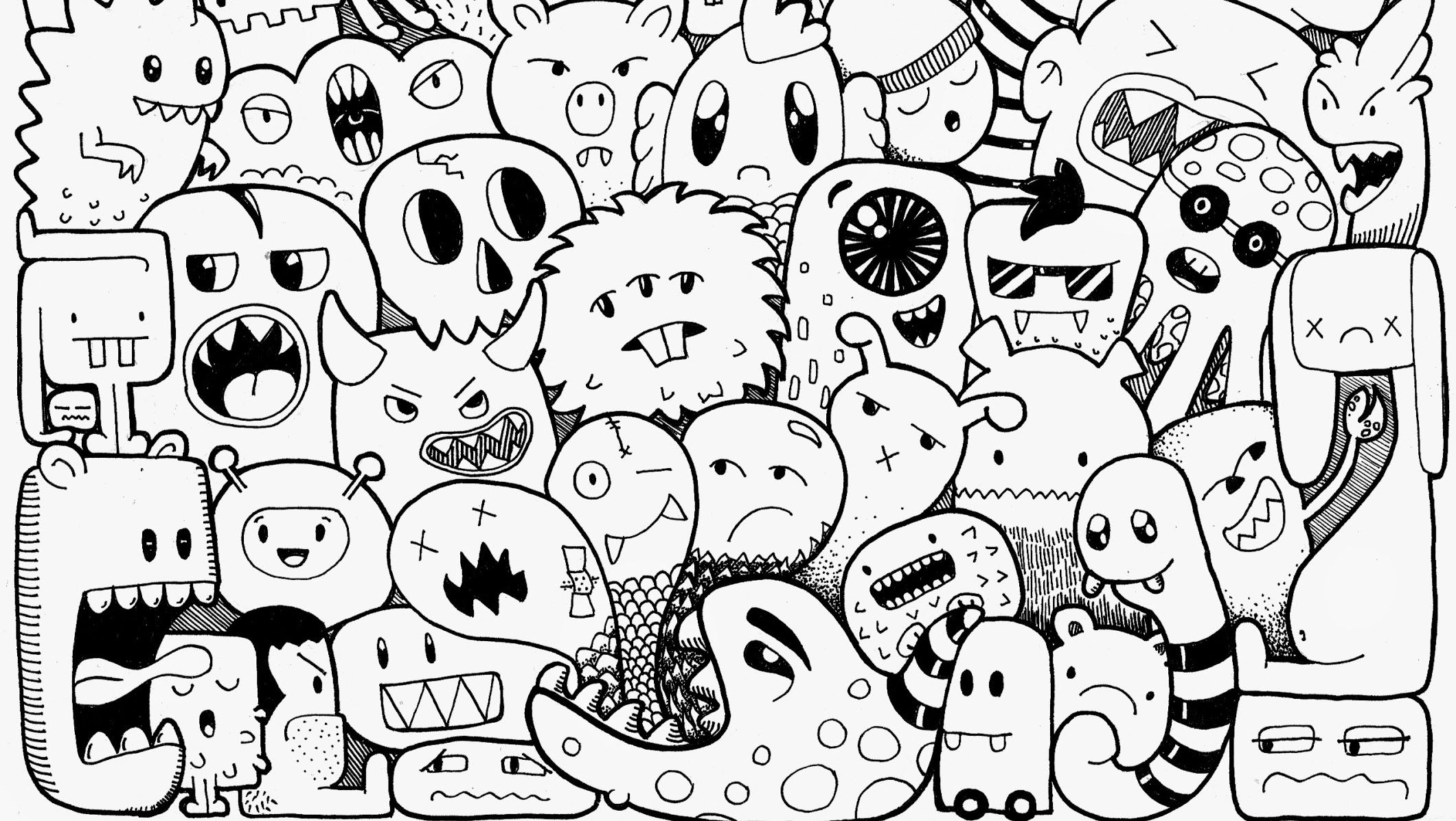 Bunte Galerie Youtube Graffiti Doodles Doodle Monster
