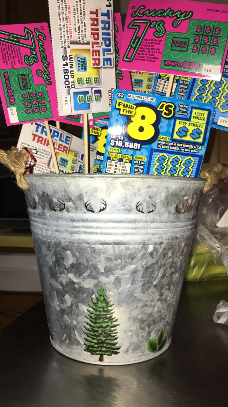 Scratch off bucket! bought stickers from hobby lobby to put on the ...
