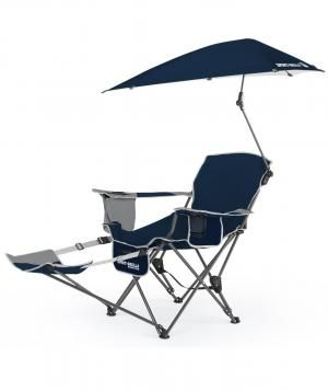 High Quality This Deluxe Beach Chair With An Attached Umbrella Even Extends Into A  Chaise For Maximum Sunbathing Comfort. It Also Comes With Tons Of Storage  Room, ...