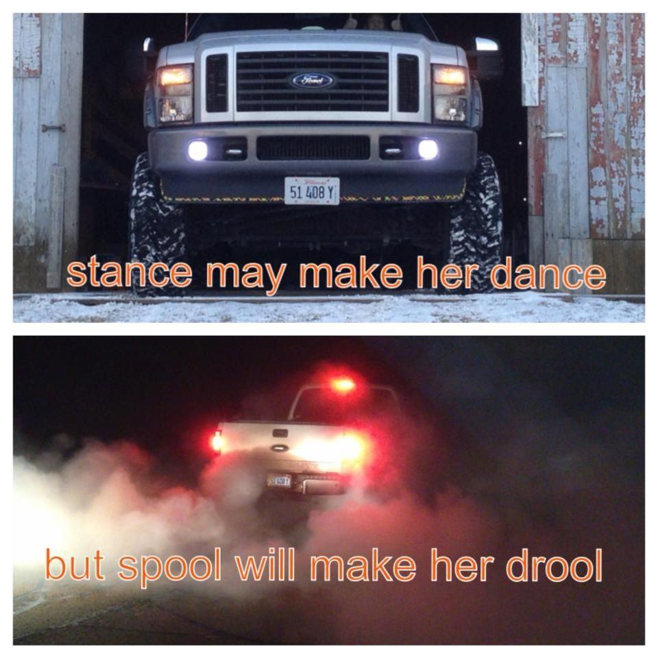 Stance may make her dance but spool will make her drool vinyl decal//sticker