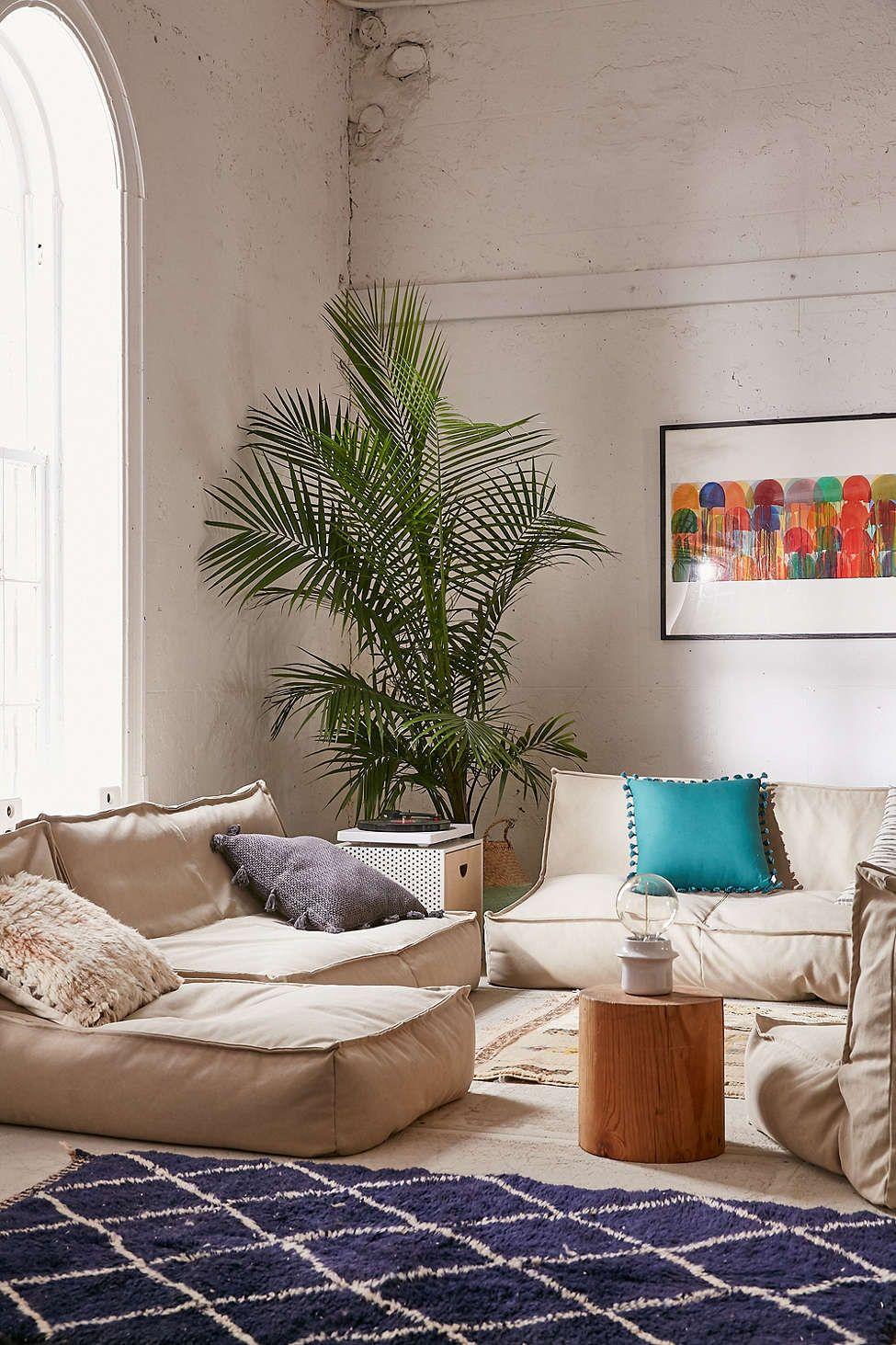 Lennon Lounge Chair Floor Seating Living Room Floor Pillows
