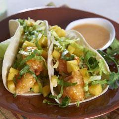 Brisk Lemonade Shrimp Tacos