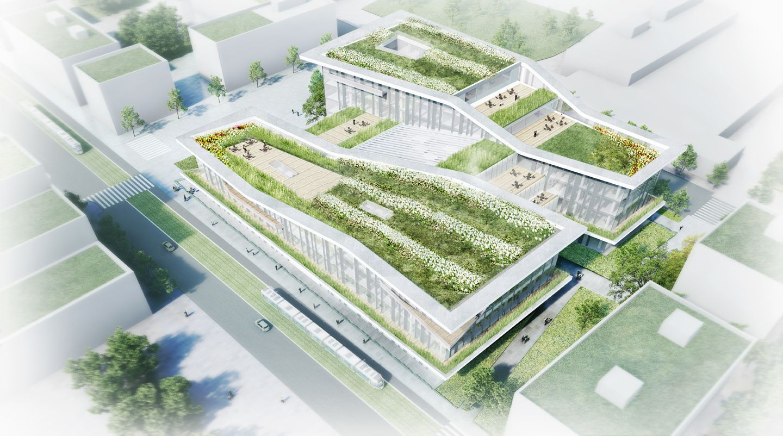 ged (grand Équipement documentaire) aubervilliers - campus condorcet