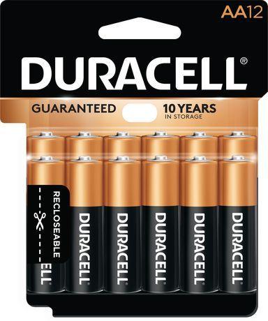 Duracell 1 5v Coppertop Alkaline Aa Batteries 12 Pack Black And Copper Duracell Alkaline Battery Duracell Batteries